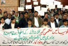 A rally in Quetta protesting the deteriorating law and order situation