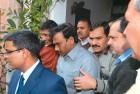 <b>The fallen</b> Raja being taken to court