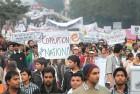 <b>Say No</b> An anti-corruption rally in New Delhi, Jan 30, 2011