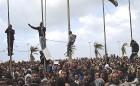 <b>Rumbling ground</b> Anti-Gaddafi protesters in the defiant eastern city of Benghazi