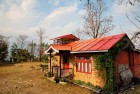 A cottage at Yangsum Farm, Rinchenpong, Sikkim, run by the Tsechu Tharpa family