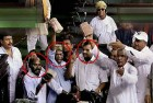 <b>Show us the money</b> BJP MPs in Parliament
