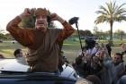Gaddafi preens in Tripoli