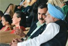 <b>Match Point</b> Manmohan and Gilani at the World Cup semi-finals in Mohali