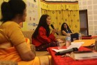 Lily Wangchuk, Shobhaa De at the litfest