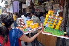 School projects on sale in Nai Sadak, Delhi
