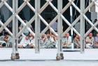<b>Reverse Gear</B> Maruti workers on strike at Manesar plant in Haryana