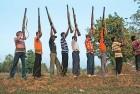 <b>Outside the law</b> Salwa Judum volunteers, recruited for anti-Maoist operations