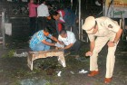 <b>Remains of a terror day</b> Police at blast-hit Zaveri Bazaar