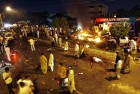 Aftershocks A blast site in Karachi