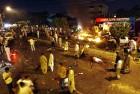 Aftershocks A blast site in Karachi