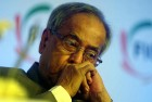 <b>Buying time</b> FM Pranab Mukherjee says prices will ease only by April 2012