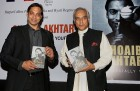 Shoaib Akhtar with Pakistan High Commissioner to India Shahid Malik releasing his book at a function in New Delhi. on Sep 23