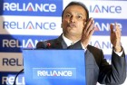 <b>Water proof</b> Anil Ambani at a Reliance AGM