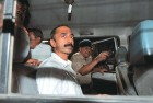 <b>A man hit</b> IPS officer Sanjiv Bhatt after a court appearance