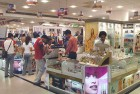 <b>Lookin' good</b> A cosmetics section of a shop at a Gurgaon mall. The personal care cosmetics market is estimated at over Rs 20,000 crore.
