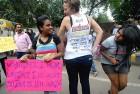 <b>Redefining sight</b> At the Besharmi campaign, Delhi's version of Slutwalk