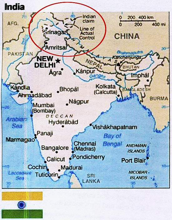 Maps Latest News On Maps Maps Photos Outlookindia - India and us on a map