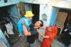 <b>Big winners</b>Kamal Verma and Mamta with their daughte