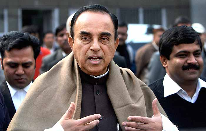 Swamy Keeps up Attack on CEA, Brushes Aside Jaitley's Remarks