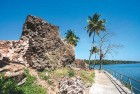 Ruins of the 1523 Portuguese-built Kottapuram fort on the Periyar