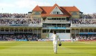 Dravid after a century at Trent Bridge, 2011. He has scored three centuries twice in an England series. Only the Don has achieved that.