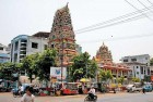 <b>Indian echo</b> A Hindu temple in Mandalay