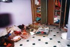 A south Delhi flat ransacked by the help