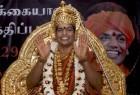 <b>Another grab</b> Swami Nityananda, named 293rd pontiff of the Madurai Adheenam