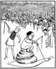 The controversial cartoon by Shankar