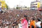 Sharmila & Vijayamma at Tirupati