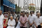 Left Front Observes Jyoti Basu's Birth Anniversary