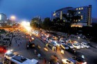 <b>Change</b> In Gurgaon now, cars not cattle are herded onto streets