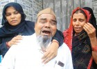 <b>Caught deep</b> Parents of Mahboob Bagalkot, who was arrested in Hubli as a terror suspect
