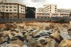 Proposed site of apartments in the Legislators' Home complex, Bangalore