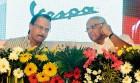 Ajit Pawar with NCP chief Sharad Pawar