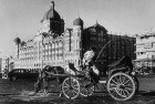 <b>'A Grand Symbol'</b> A Victoria horse carriage outside the Taj Mahal Hotel