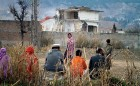 Bin Laden's house being demolished in Abbottabad, Feb 2012