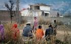 Bin Laden's house being demolished in Abbottabad, Feb 2012