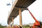 Repair work at the Airport Express Line
