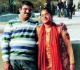 A file picture of software professional Chandrasekhar Vallabhaneni and his wife Anupama in happier times. The couple has been held guilty of 'gross or repeated maltreatment' of their child by a Norwegian court and sent to prison.