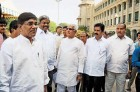 <b>B.S. gang</b> Yeddy loyalists at the Vidhan Soudha