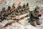 Pak soldiers (or mujahideen?) in Kargil during the war, June '99