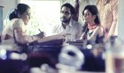 <b>Fanning the flames?</b> 'Vikas Verma' and 'Shanti Pandit' in the ad