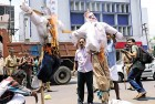 Protests in Thiruvananthapuram