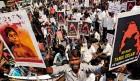 <b>Hearts hurt</b> A protest in Chennai against Sri Lankan atrocities