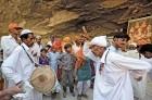 <b>Their land</b> Pakistani Hindus at the Hinglaj Mata temple, Balochistan