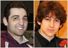 Combo image shows Tamerlan Tsarnaev, 26, left, and Dzhokhar Tsarnaev, 19.