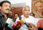 <b>No mean affair</b> Ex-forest minister Ganesh Kumar, left, with Kerala CM Chandy
