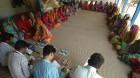 <b>Loan melee</b> Villagers at an MFI meet